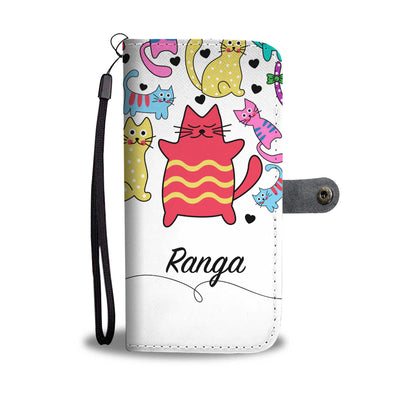 Ranga - Custom Made Vibrant Cats Phone Case