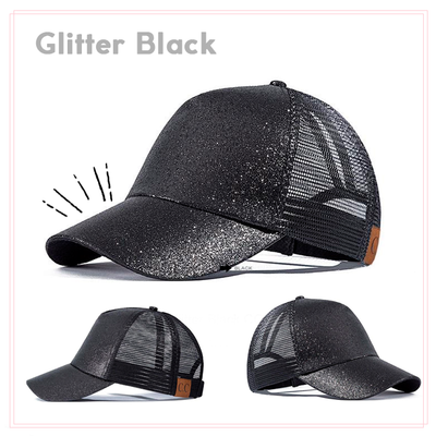Bonus - Another Awesome Glitter Ponytail Hat
