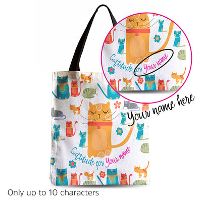 Customizable Lovely Vibrant tote bag