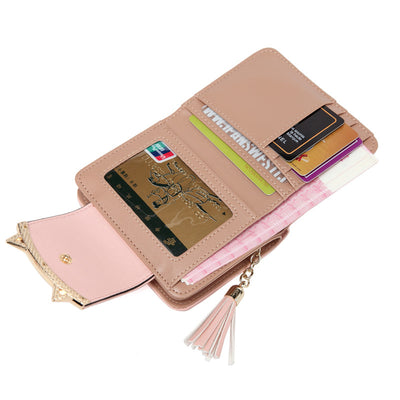 Cat-Tastic Trifold Cat Ears Wallet