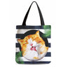 40%OFF-Wonderful Snuggly Cat Tote Bag