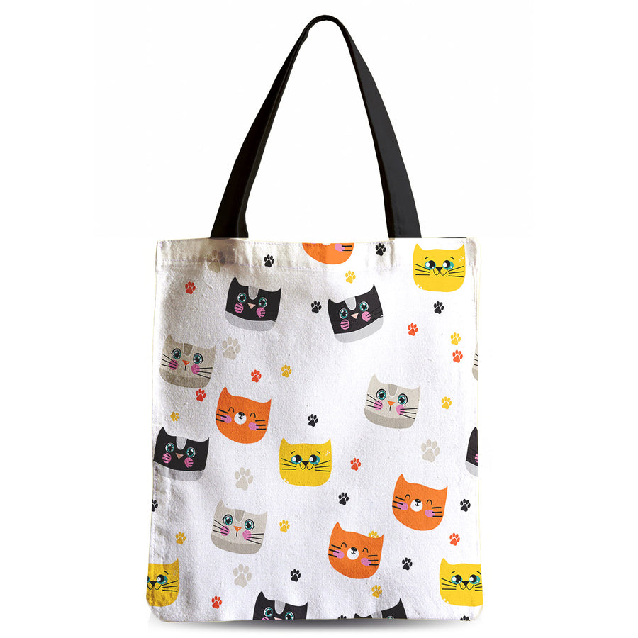 Cats N Paws Tote Bag - Sale