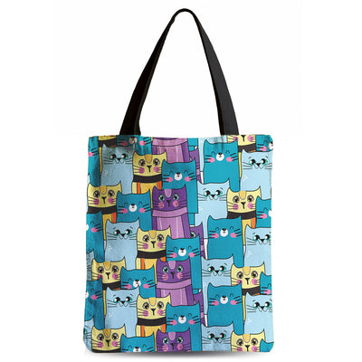 Cats Galore Tote Bag