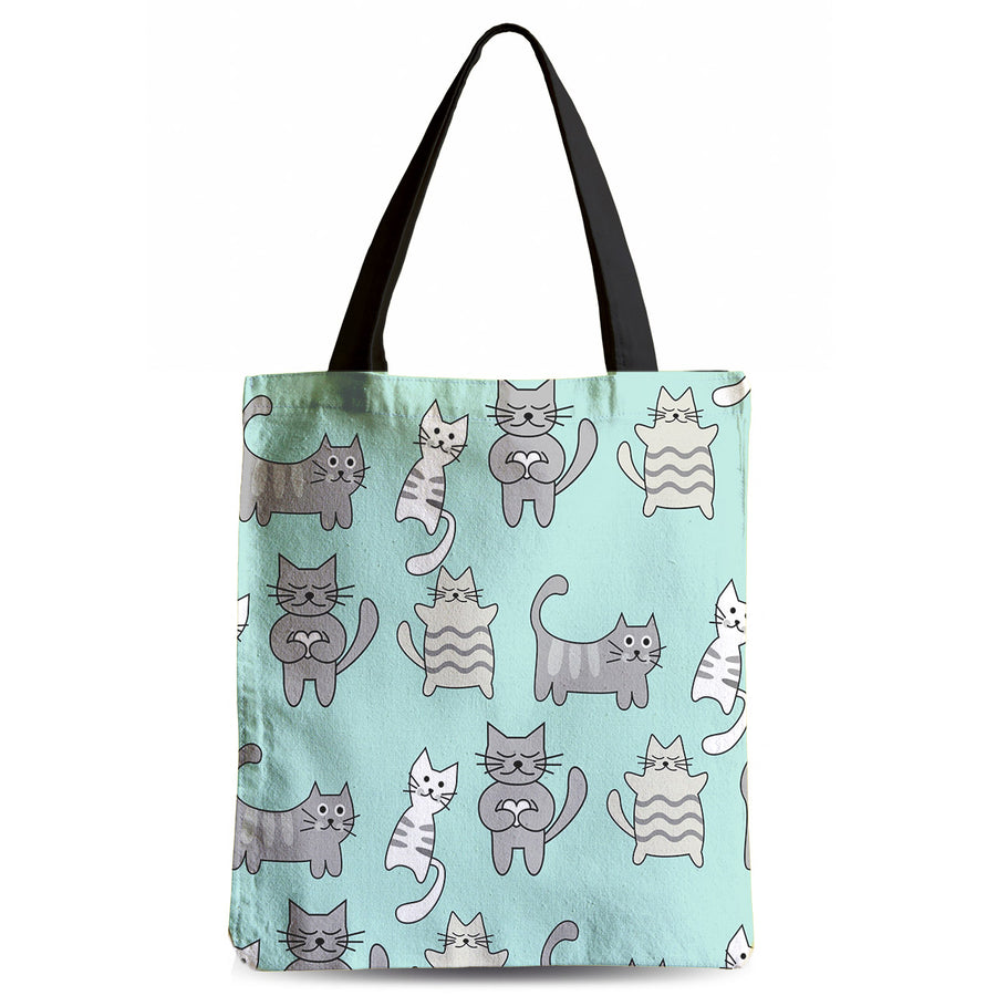 Lazy Kitty Low Tote Bag