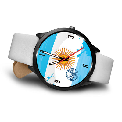 Somos ARGENTINA MyRootz Society Leather Watch