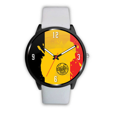 We are BELGIUM MyRootz Society Leather Watch