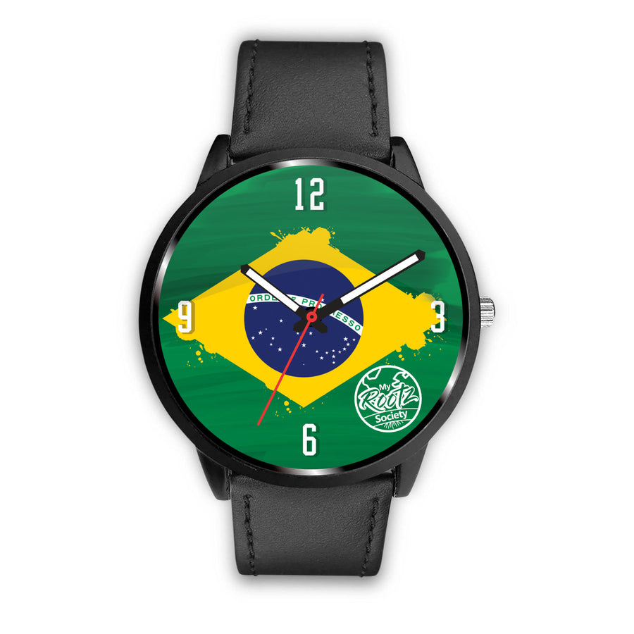 Somos BRASIL MyRootz Society Leather Watch