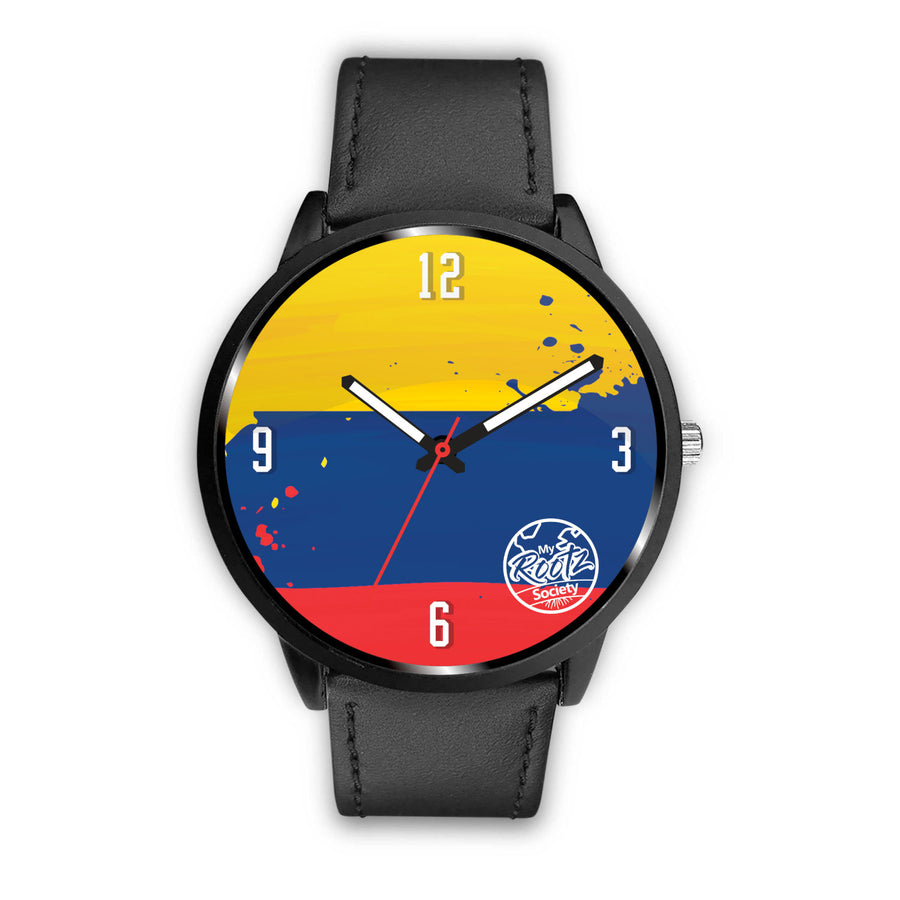 Somos COLOMBIA MyRootz Society Leather Watch
