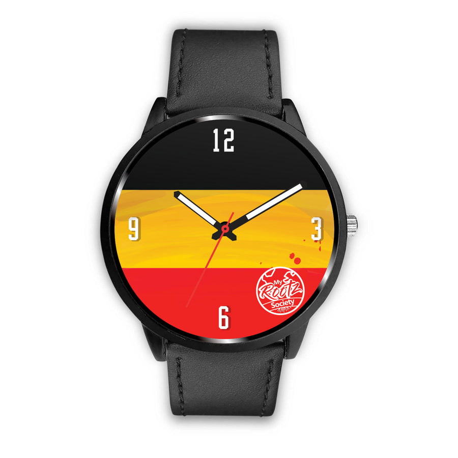 We are GERMANY MyRootz Society Leather Watch