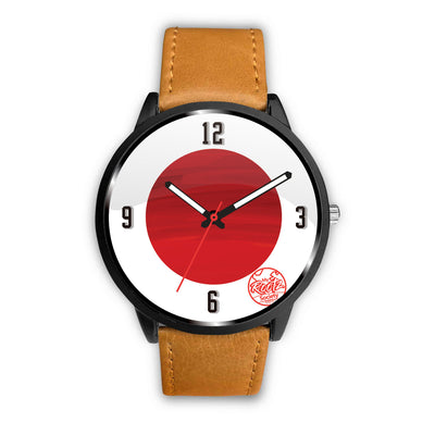 We are JAPAN MyRootz Society Leather Watch