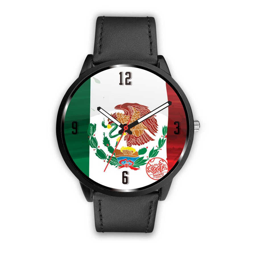 Somos MEXICO MyRootz Society Leather Watch