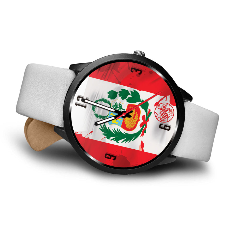 Somos PERU MyRootz Society Leather Watch