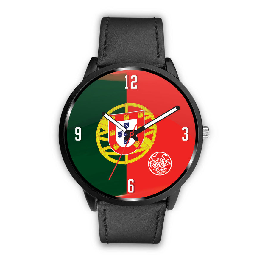 Somos PORTUGAL MyRootz Society Leather Watch
