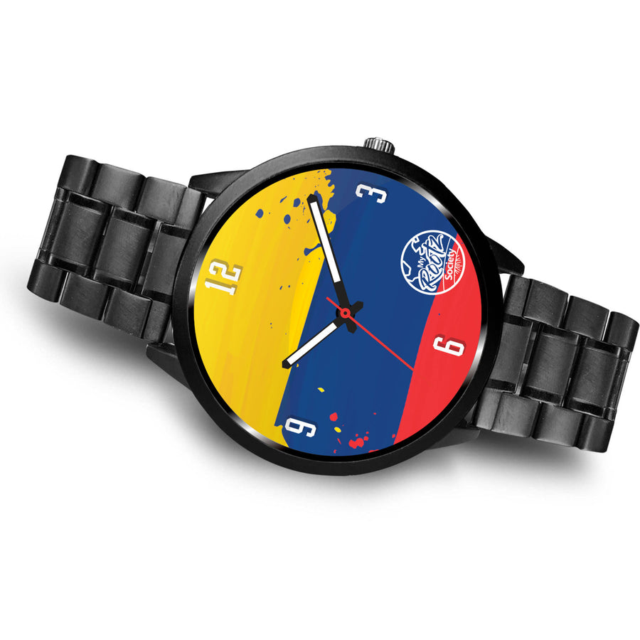 Somos COLOMBIA MyRootz Society Stainless Steel Watch