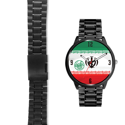 We are IRAN MyRootz Society Stainless Steel Watch