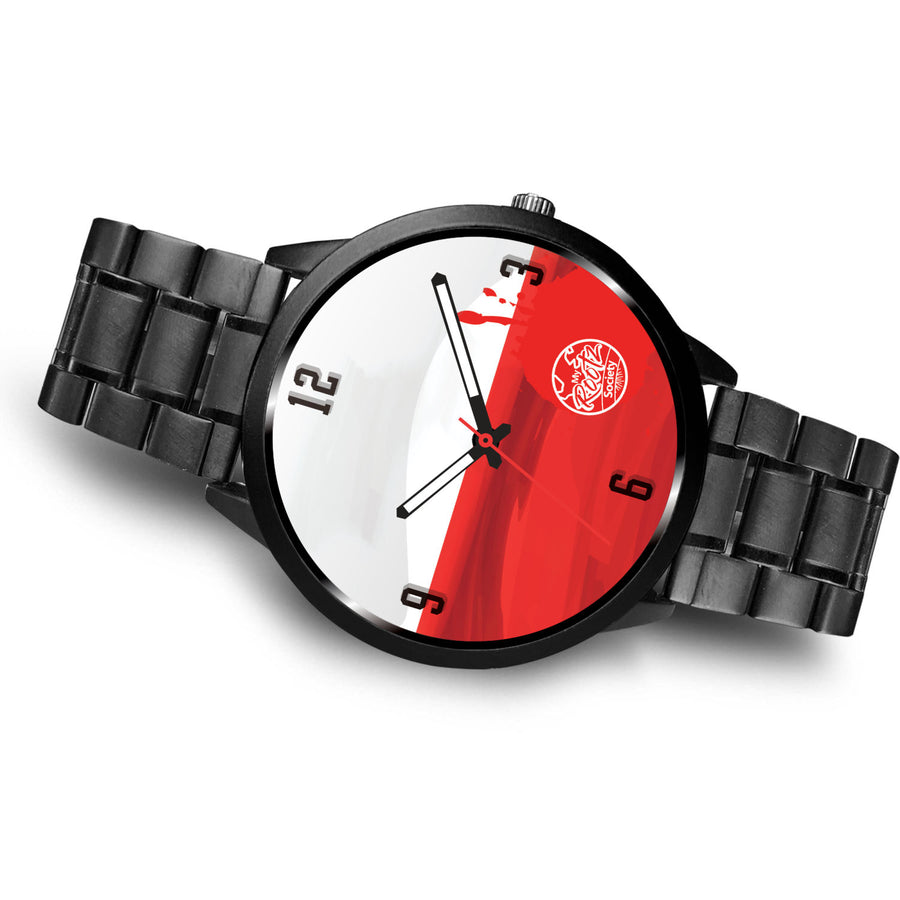 We are POLAND MyRootz Society Stainless Steel Watch