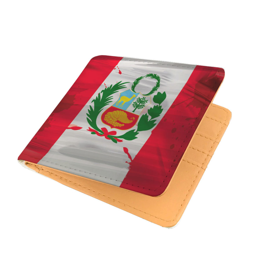 Somos PERU MyRootz Society Men's RFID Shield Wallet