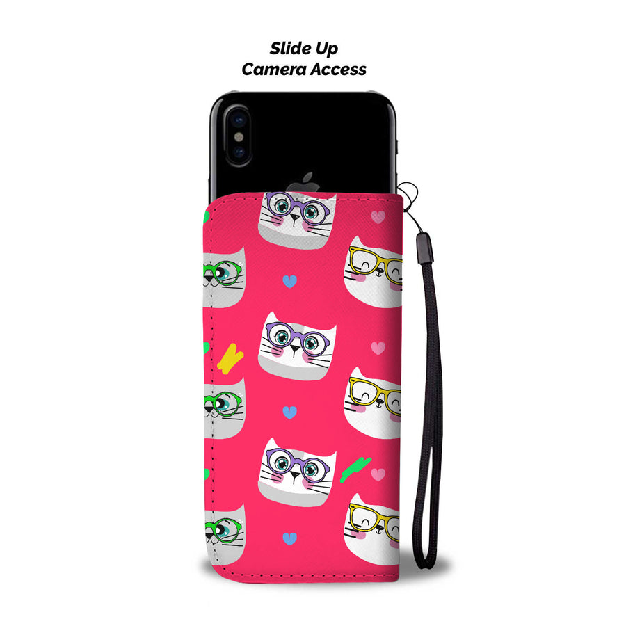 Custom Made Smarty Cats Pink Phone Case - With Your Name