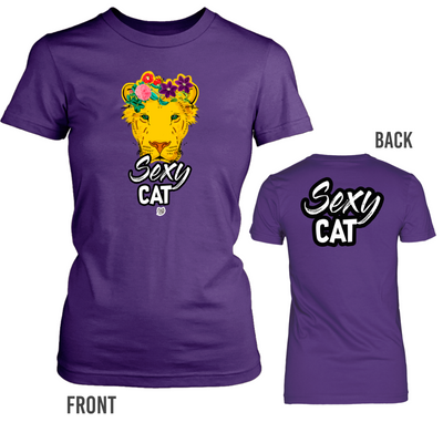 Sexy Cat - Lions Family Tshirt