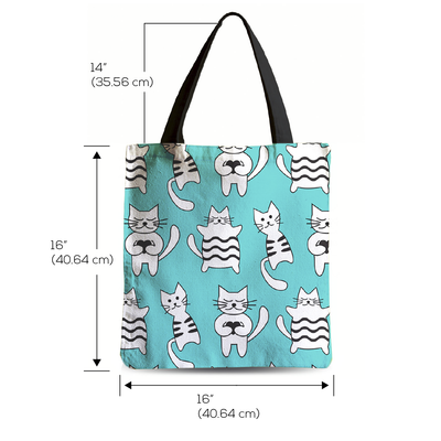 Lazy Kitty Tote bag