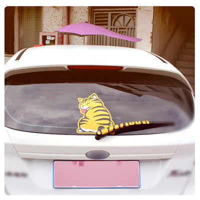 Sweet and Rebellious Cat Decal - Back Wiper Car Window