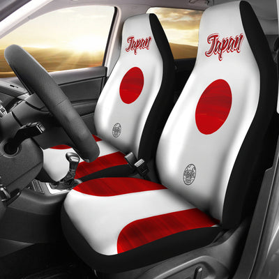 We are JAPAN MyRootz Society Car Seat Cover SET