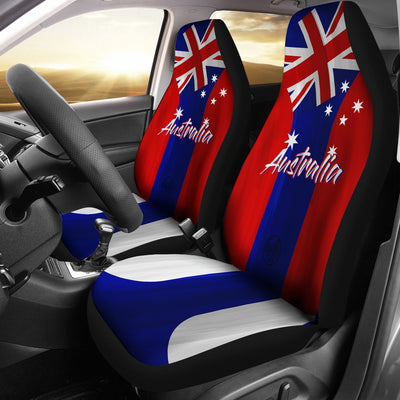We are AUSTRALIA MyRootz Society Car Seat Cover SET