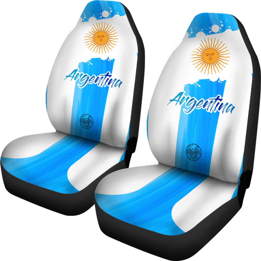 Somo ARGENTINA MyRootz Society Car Seat Cover SET
