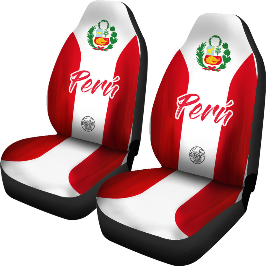 Somos PERU MyRootz Society Car Seat Cover SET