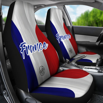 We are FRANCE MyRootz Society Car Seat Cover SET