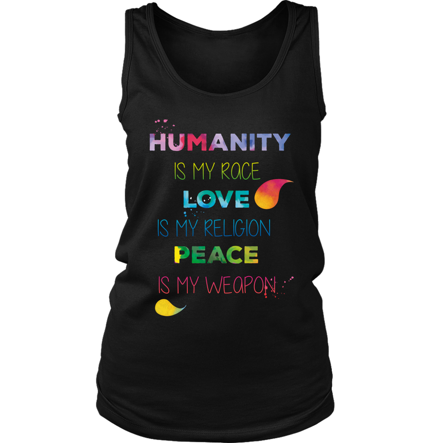 Humanity is My Race - Shirts