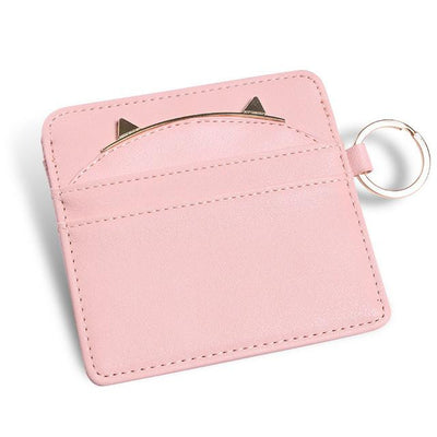 Sleek Cat Purse Wallet - Cash and Credit Card Holder - Sale