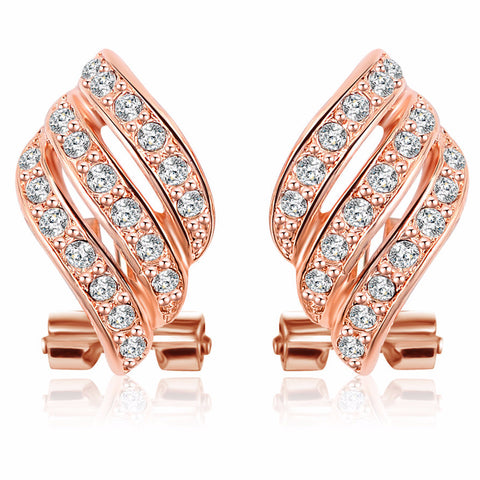 Austrian Crystal Wing Earrings