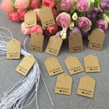 "200  ""Handmade with love"" Earrings Display card tag earrings hang tags earrings price tags with custom logo design of your choice"
