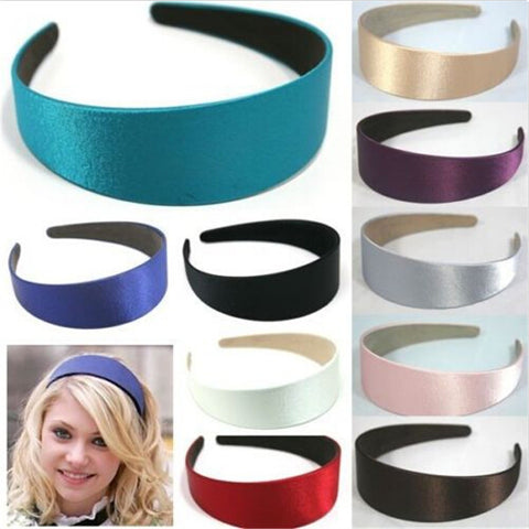 20pcs 3cm Satin Headband Hair Band Head band Alice Band Hairband Head