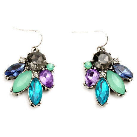 Fantasy Crystals Earrings