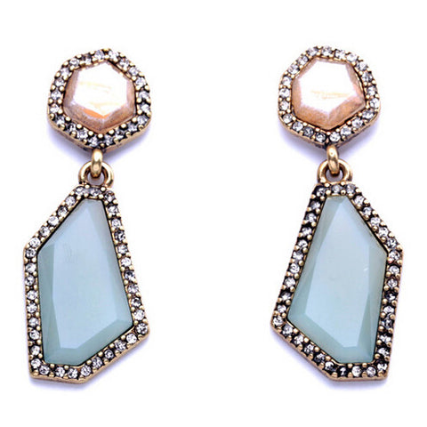 Casual Pastel Drop Earrings