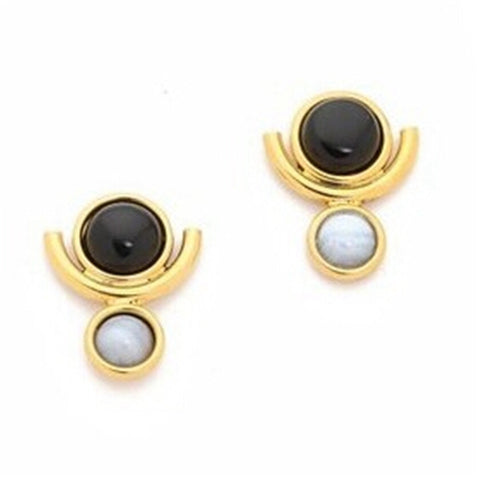 Black Moon Earring