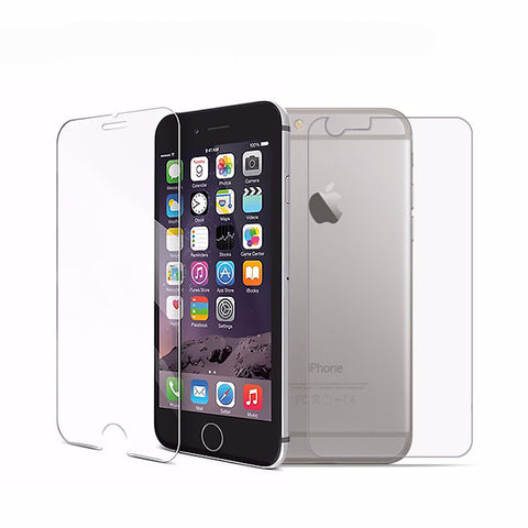 Front + Back Premium Tempered Glass for iPhone 6 6s Screen Protector