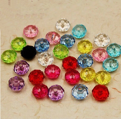 Colorful Acrylic Beads