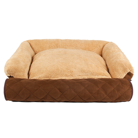 Super Soft  3 Using way for Pet Sofa Pure Color Detachable