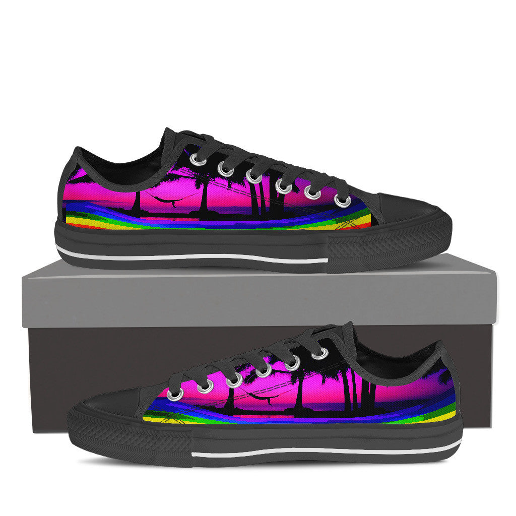 5584c1c0be4fa4 Women s Low Top Canvas Shoes (LGBT)(US 49.95) (10 Styles)(50%Off ...