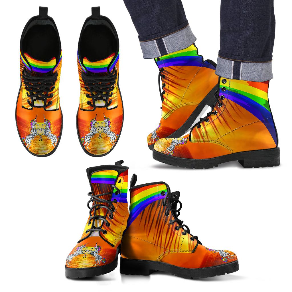 62004aac35f9 Men s Rainbow Fashion Boots (7 Designs)US 89.90 (50% Intro) - The ...