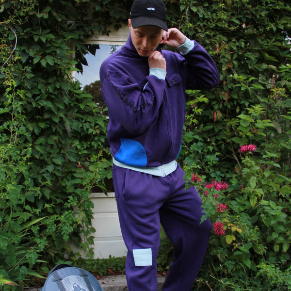 Indigo Sweat Suit