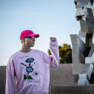 Morning Glory Crewneck - Pink