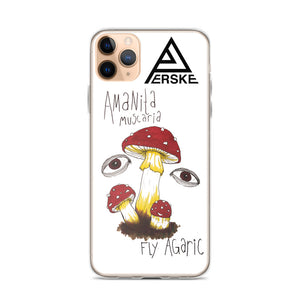 FLY AGARIC iPhone Case