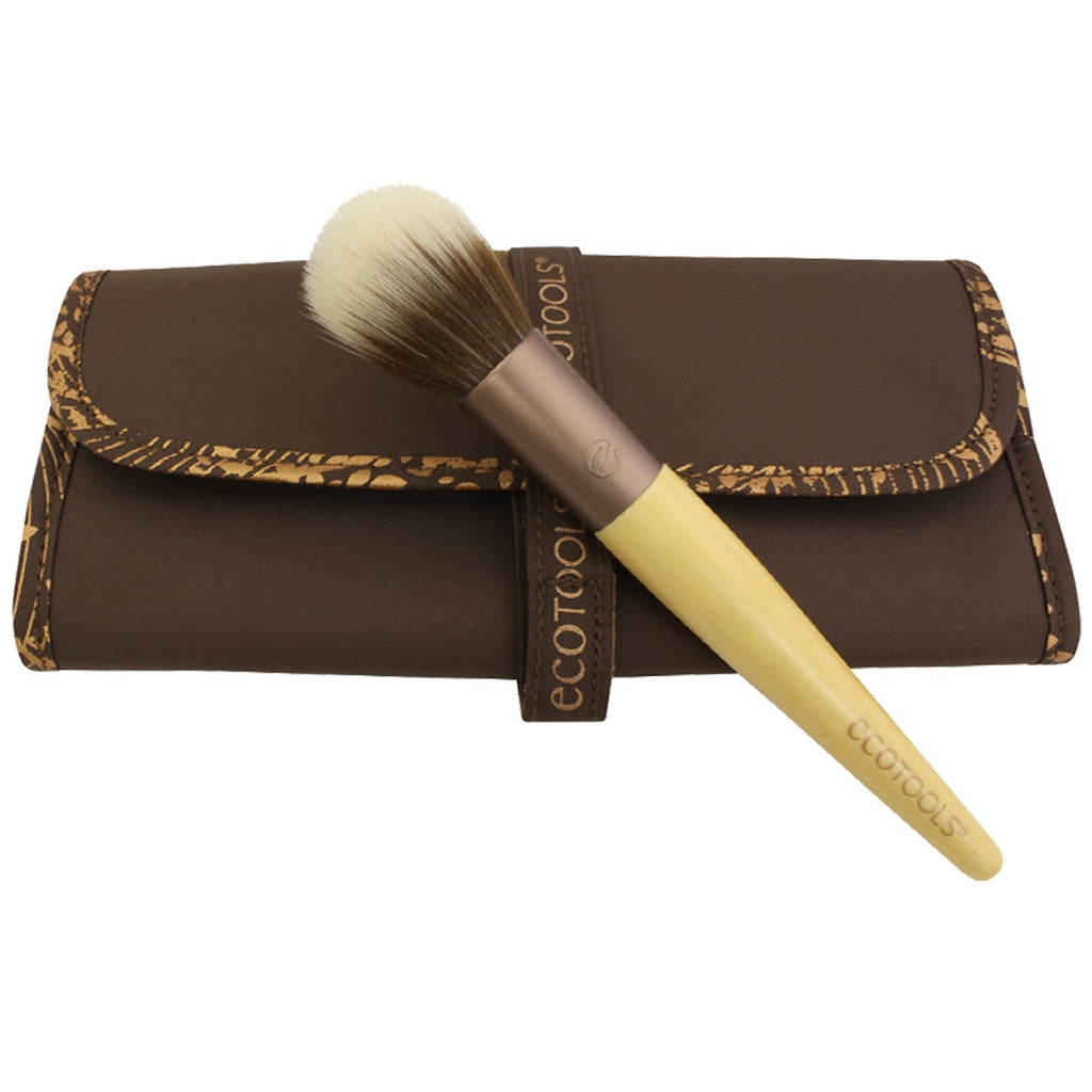 Collector's Brush Roll with Multi-Tasking Face Brush