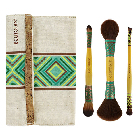 BoHo Luxe Duo Brush Set (Limited Edition, 4 Piece Set)