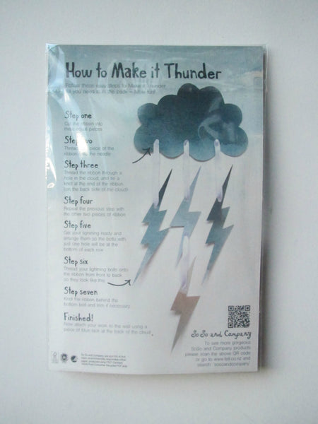 Make it Thunder! (Threading Activity for Kids)