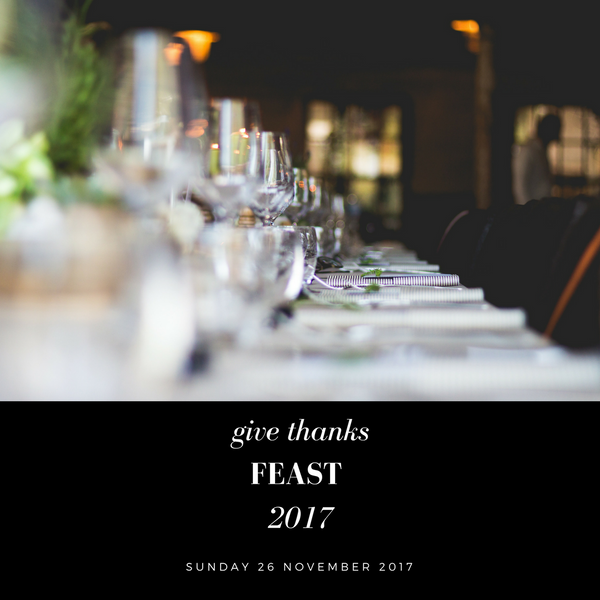 2017 Of Kin Thanks Giving Dinner Feast